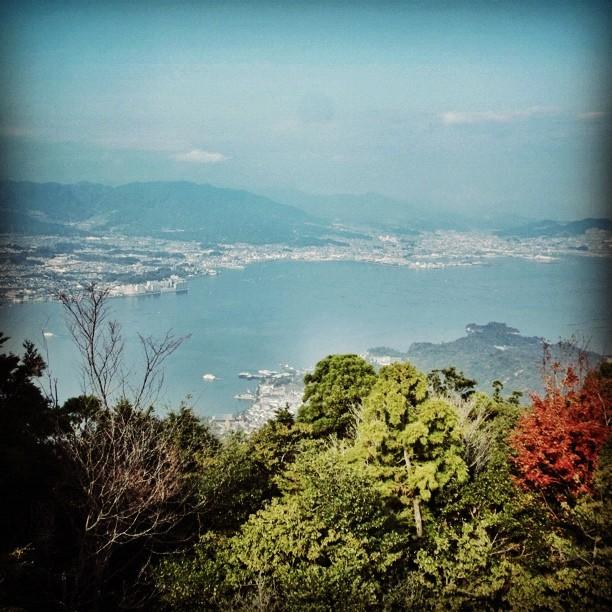 弥山から - from Instagram