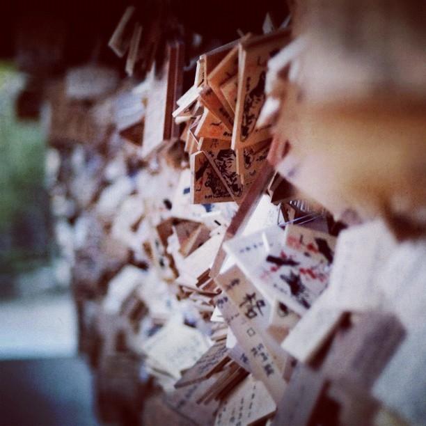 Wooden plaque - from Instagram