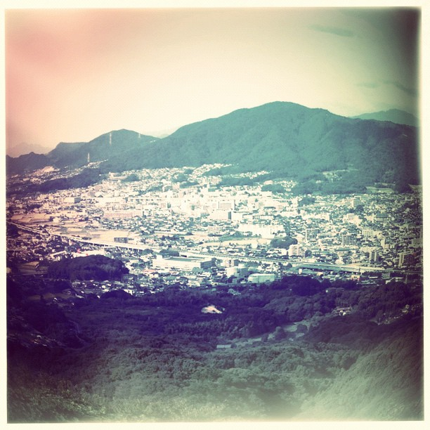 From Tenpai Mountain - from Instagram