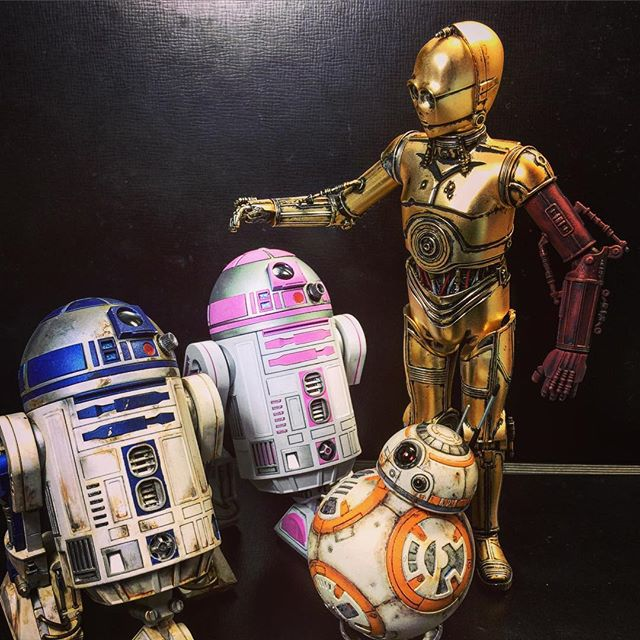 Droids - from Instagram